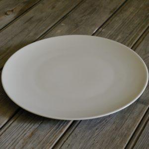 idée de support en porcelaine grande assiette plate