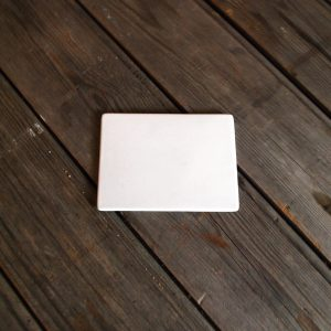 idée de support en porcelaine plaque rectangle non percée