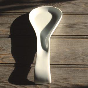 idée de support en porcelaine repose cuillère