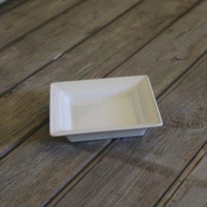 idée de support en porcelaine petit vide poche carré