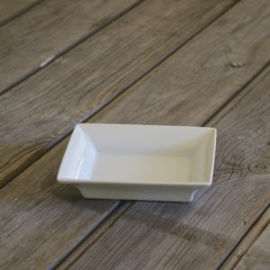 idée de support en porcelaine petit vide poche rectangle