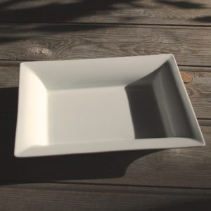 idée de support en porcelaine grand vide poche rectangle