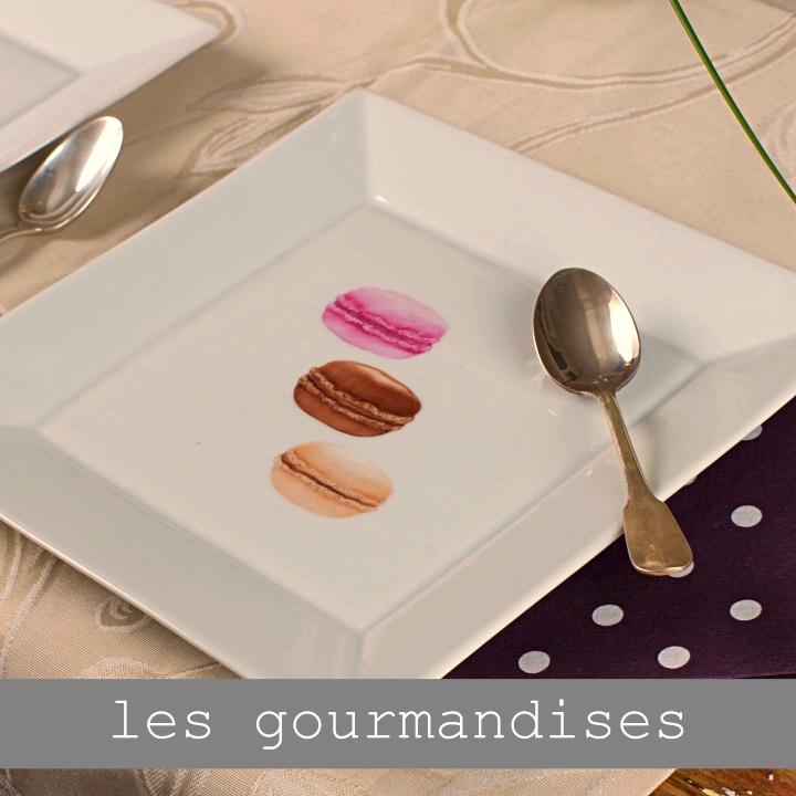 assiette à dessert personnalisée
